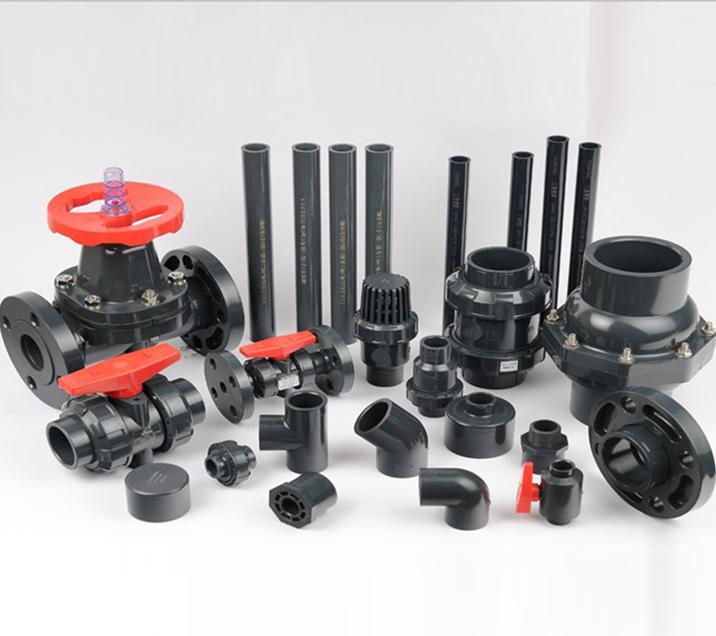 三厘SANKING UPVC管 UPVC化工管 塑料管材 UPVC美标SCH80管材3/4