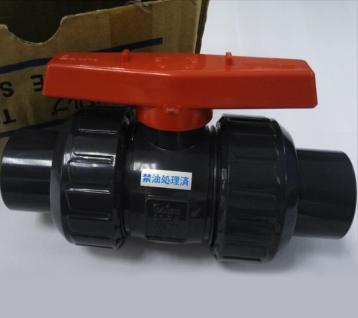 日本积水CLEAN-PVC超纯系统UPVC双由令球阀UPVC活接球阀塑料球阀