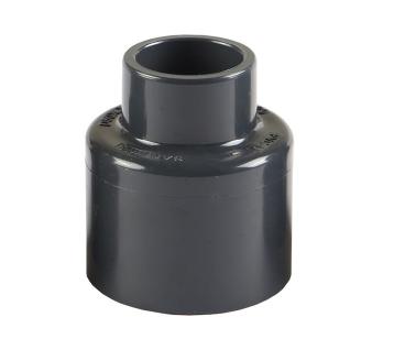 三厘 UPVC变径接头 塑料大小头 UPVC化工管件异径直接大小头