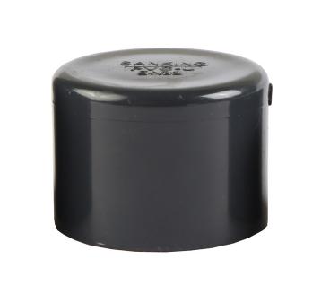 台湾三厘SANKING UPVC管帽 堵头 管堵 工业UPVC塑料管帽 国标美标