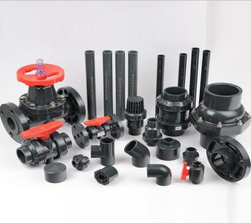 台湾三厘UPVC管 UPVC化工管材 耐腐塑料管材管件 美标SCH80管材4