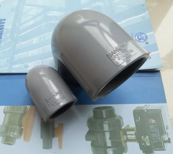 三厘SANKING CPVC弯头 90度弯头 CPVC工业化工塑料弯头 国标美标